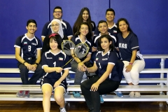 Badminton H.S Team 17-18 cropped