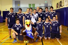Volleyball Eagles boys varsity 17-18-1