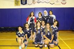 Volleyball Eagles girls varsity 17-18-1