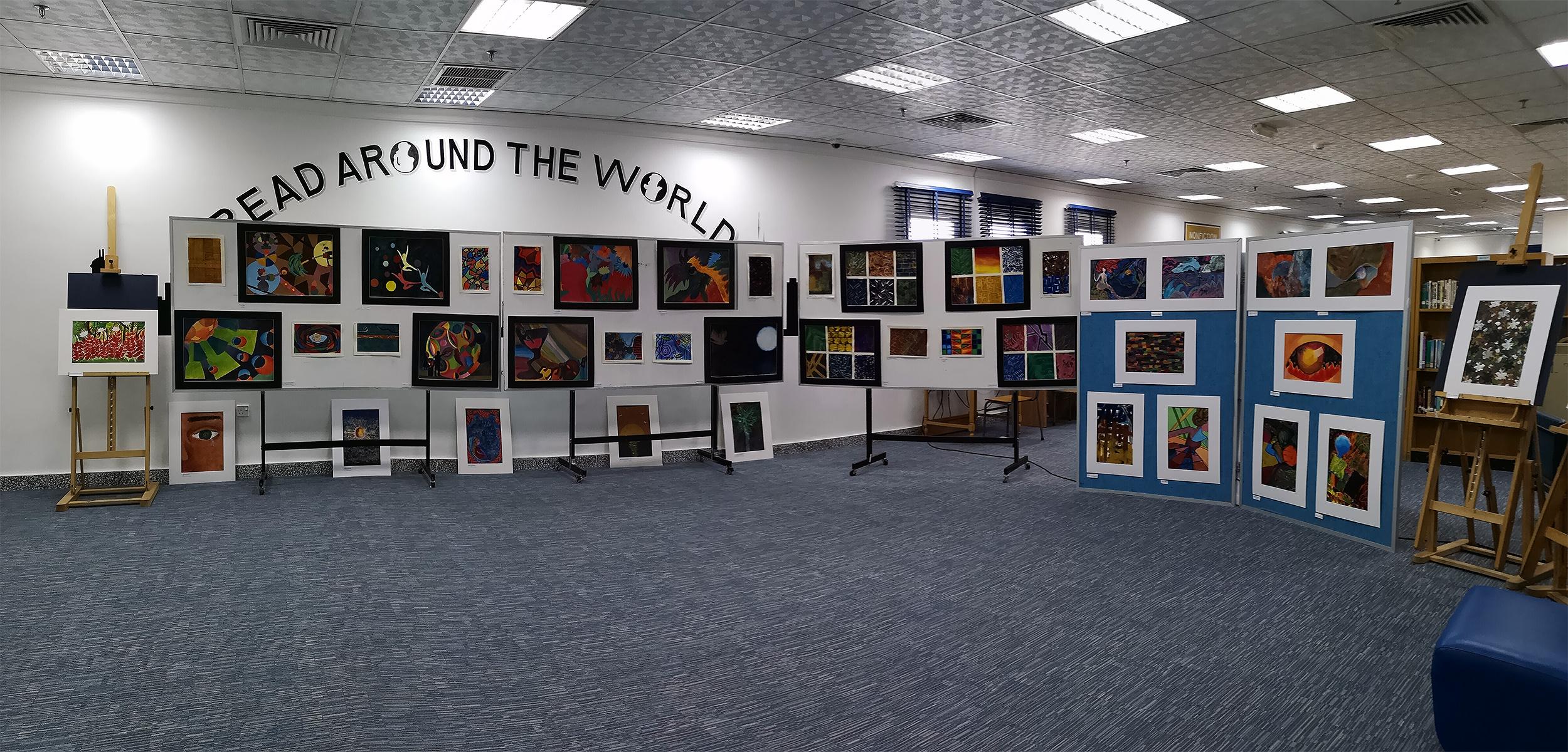 H.S Art Exhibit 2019 web