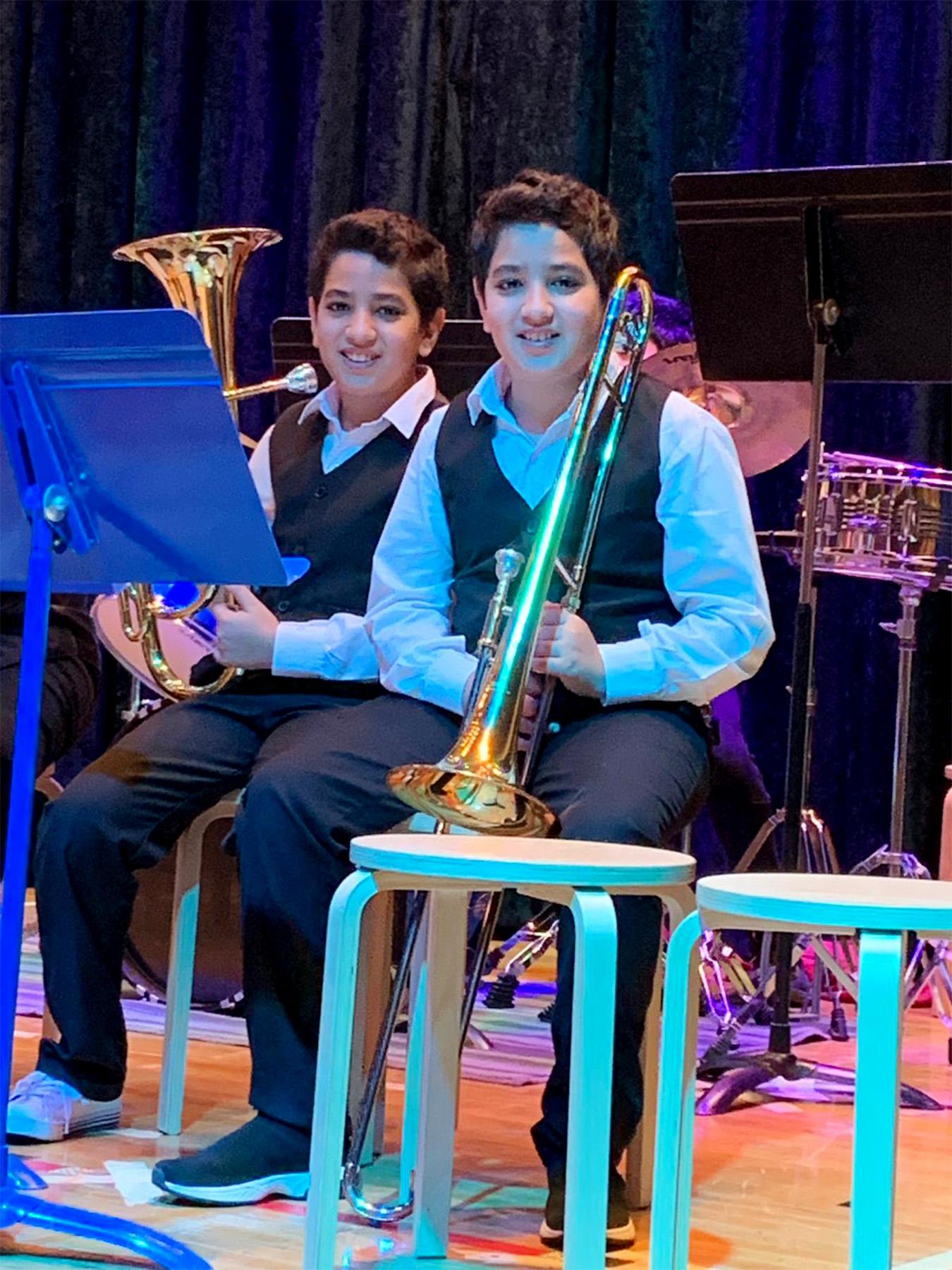 UAS Band 2k19 Winter Concert7